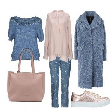 Outfit Colori tenui per un freddo inverno