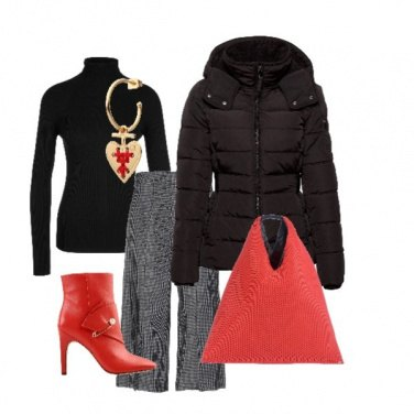 Outfit Red&Black everyday