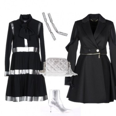 Outfit 3 2 1...Silver Black!