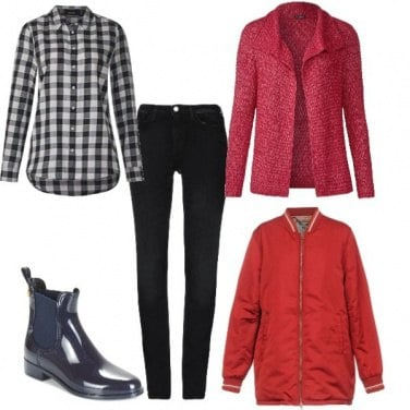 Outfit E se piovesse?