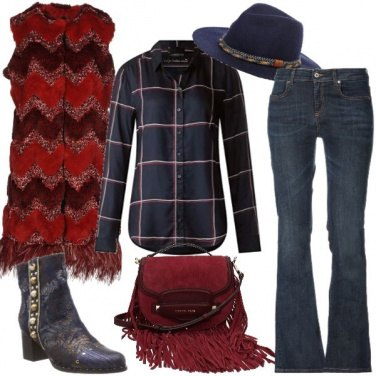 Outfit Inverno texano