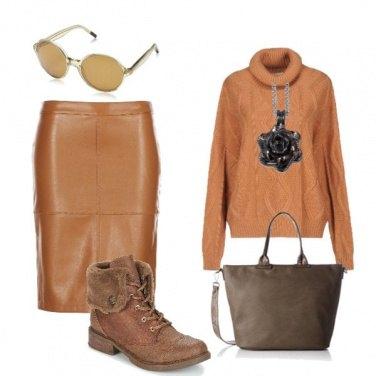 Outfit Carry, curcuma e cannella