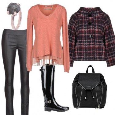 Outfit Nero ma non troppo