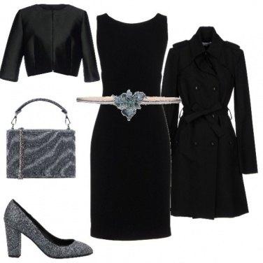 Outfit Cintura luccicosa