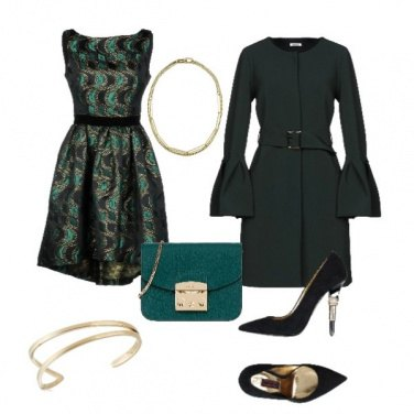 Outfit Eleganza in verde