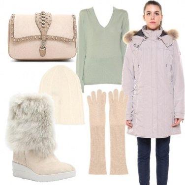Outfit Tinte pastello per l\'inverno