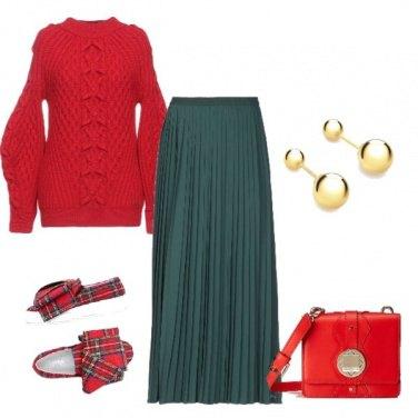 Outfit Natalizia alla moda