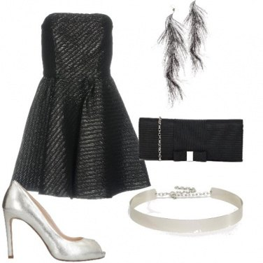 Outfit Argento vivo addosso