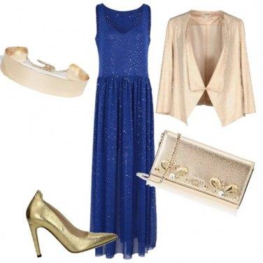 Outfit Oro per accendere le festività