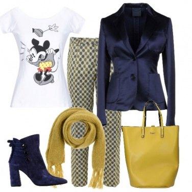 Outfit Disney in senape e blu