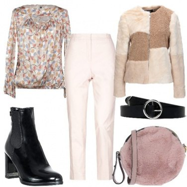 Outfit Mix con eco-fur