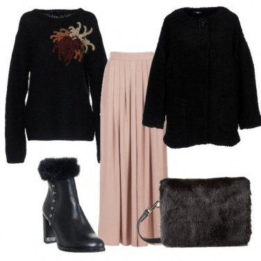Outfit Gonna lunga per l\'inverno