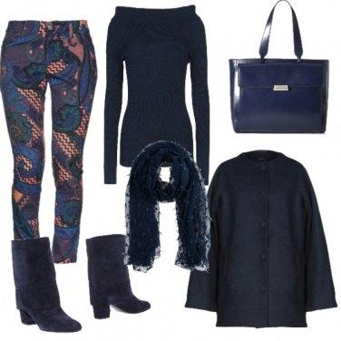 Outfit Fantasia blu