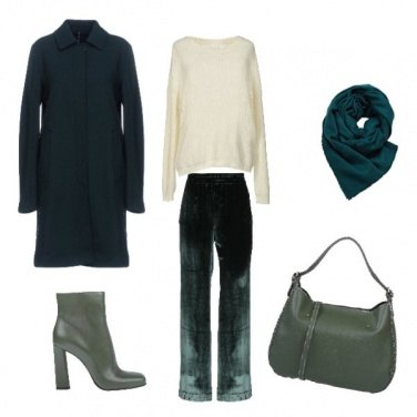 Outfit Verde outfit per il giorno