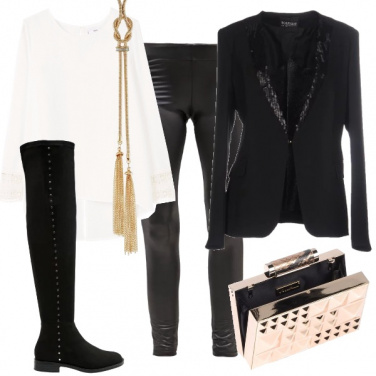 Outfit Smoking per lei