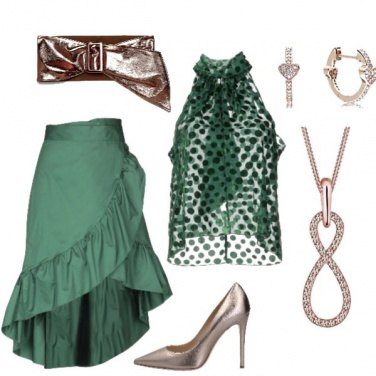 Outfit Infinity in verde