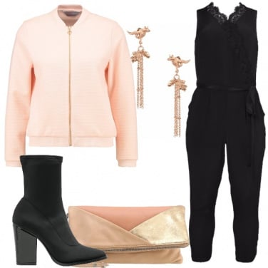 Outfit Affascinante in nero