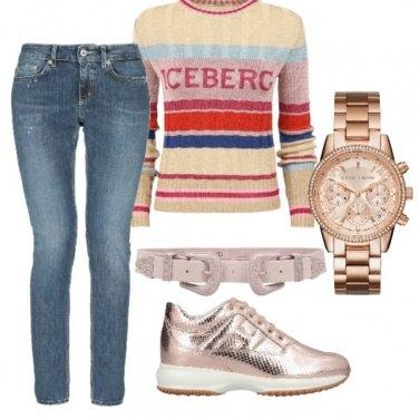 Outfit Sulle sfumature del rosa