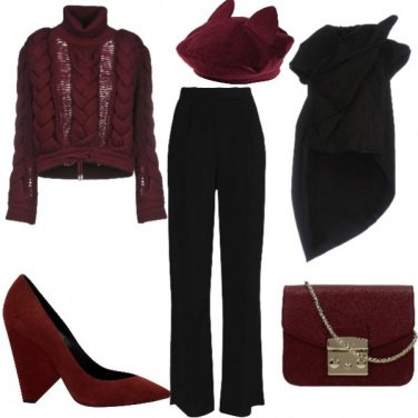 Outfit Un tacco insolito.