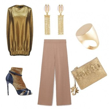 Outfit Gold girl
