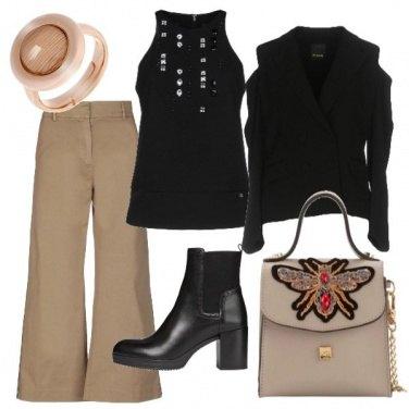 Outfit Il pantalone a zampa