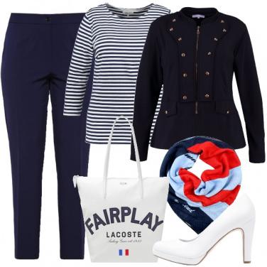 Outfit Vestiamo alla marinara