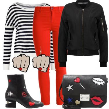 Outfit Pugni e carezze
