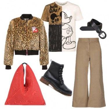 Outfit Bomber e anfibio