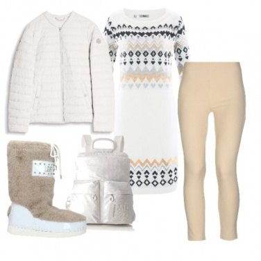 Outfit White Christmas