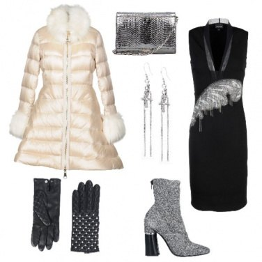 Outfit Glam on the snow