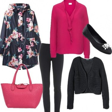 Outfit Dettagli fucsia