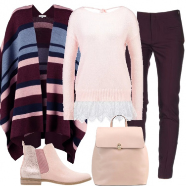 Outfit Bella in rosa