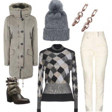 Outfit Montagna con stile