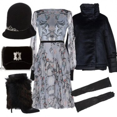 Outfit Party chic in quota