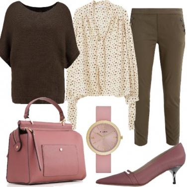 Outfit Accessori rosa per un look da giorno