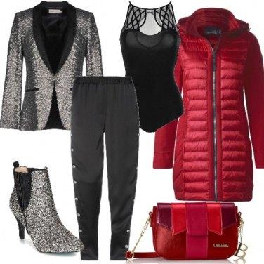 Outfit Chic col piumino caldo