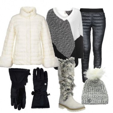 Outfit Party sulla neve