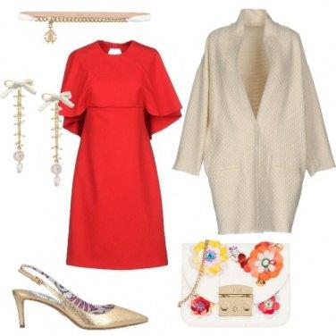 Outfit Vestito con balze