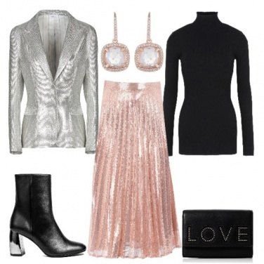 Outfit Riflessi rosa