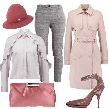 Outfit Misteriosa e femminile