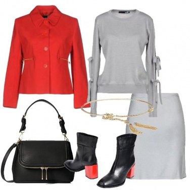 Outfit Cintura dorata Pennyblack con nappine