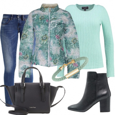 Outfit Giovane romantica