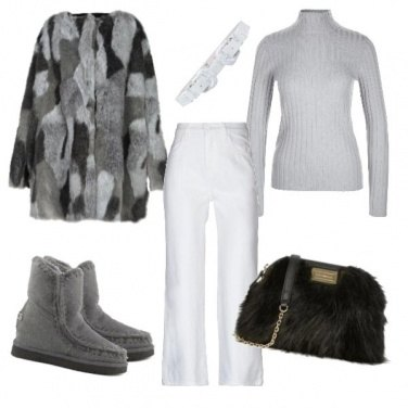 Outfit Trendy in montagna