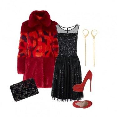 Outfit Pailletes à Paris