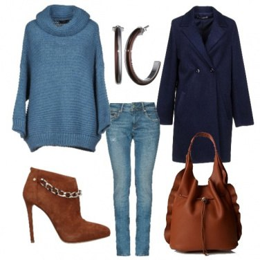 Outfit Color cuoio