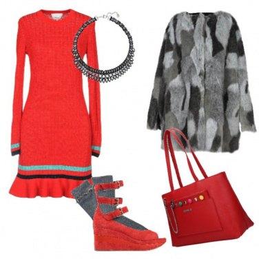 Outfit Il calzino e la zeppa