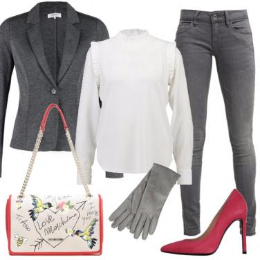 Outfit Coloriamo il grigio