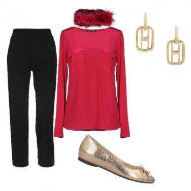 Outfit Sotto l\'albero di Natale