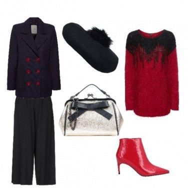 Outfit Rosso di buon auspicio