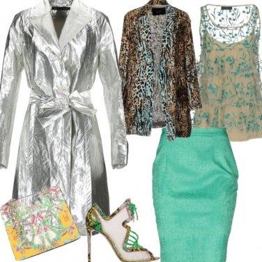 Outfit Il pitone con tacco a stiletto